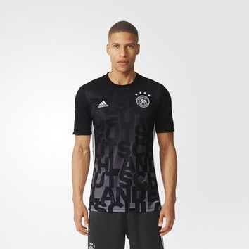 adidas UEFA EURO 2016 Germany Home Pre-Match Shirt - Black | adidas US
