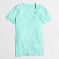 Factory tissue V-neck tee - short sleeve - FactoryWomen's Knits & Tees - J.Crew Factory