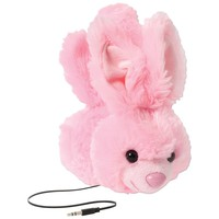 Retrak Retractable Animalz Headphones (bunny)