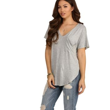 Heather Gray Pleasant Surprise Tee