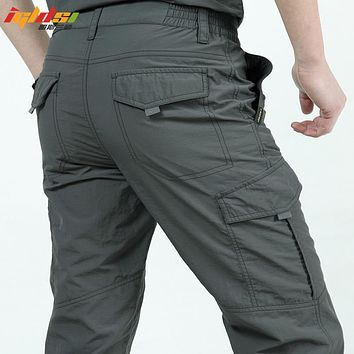 Men's Lightweight Waterproof Quick Dry Army Military Tactical Cargo Pants