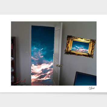 «Open Door» Art Print by Casey Bell - Exclusive Edition from $24.9 | Curioos