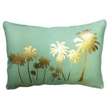 Palm Tree Decorative Pillow (18X12) - Multicolor - Hot Now® : Target