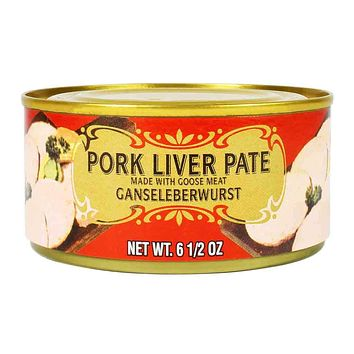 Geier's German Style Pork Liver Pate 6.5 oz.