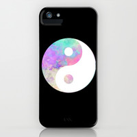 Yin and Yang iPhone & iPod Case by Kai Gee