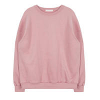Basic Colored Pullover Sweater | MIXXMIX