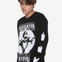 The Nightmare Before Christmas Pumpkin King Long-Sleeve T-Shirt Hot Topic Exclusive