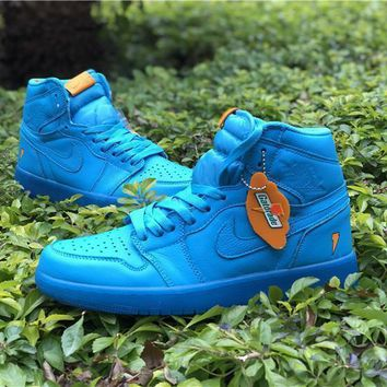 Air Jordan 1 Retro High Gatorade Blue Lagoon Aj1 Sneakers