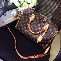 LV Classic Handbags Leather Tote Crossbody Satchel Shoulder Bag Handbag G