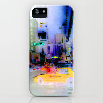Racing to Oblivion at 50 Cents for Each Fifth of a Mile iPhone & iPod Case by brenda erickson