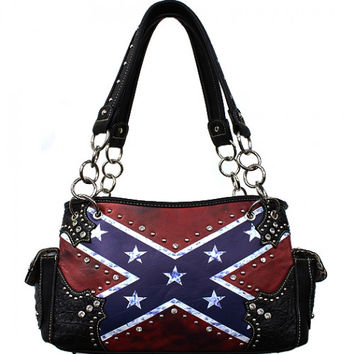 Rebel Flag Concealed Carry Purse