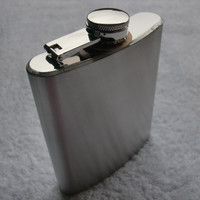 Stainless Steel Shiny Simple Design Bottle [6544255171]