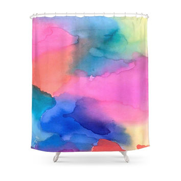 Society6 Tie Dye Original Shower Curtains