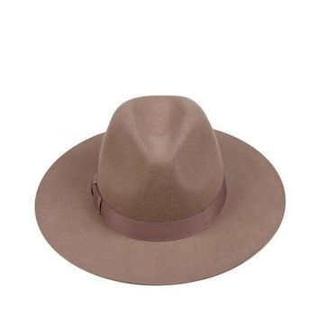 lack of color - the stahl - wool boater hat