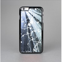 The Green and White Light Arrays with Glowing Vines Skin-Sert for the Apple iPhone 6 Skin-Sert Case