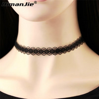 2016 sexy New Black Lace Choker Necklace For Women Velvet Choker Necklaces Chocker tattoo chokers collares mujer Collier Femme