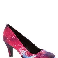 ModCloth Statement Galaxy After My Own Heart Heel
