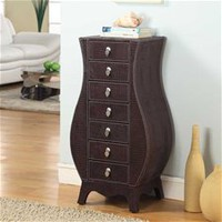 Casey crocodile Armoire    Brown   On Specail: $310.00 With Free Shipping