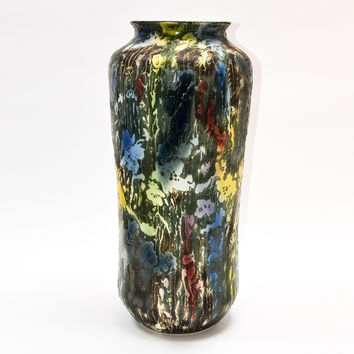Colored Vase, Abstract and Tall