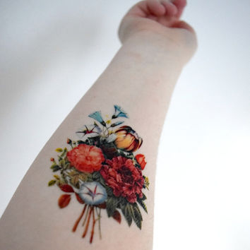 Best vintage floral tattoos products on wanelo for Vintage floral tattoo