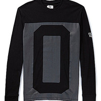 Marc Ecko Cut & Sew All Cracked Up Long-Sleeve Tee - Black