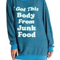 Junk Food Bod Roadtrip Sweater