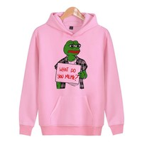 Memes pepe Meme Spring Hoodies Men Slim   Hoodies Men Tracksuit Hip Hop Hoodies And Sweatshirts  X4324