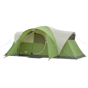 Coleman Montana 8-Person Modified Dome Tent - 15 minute Setup Tent
