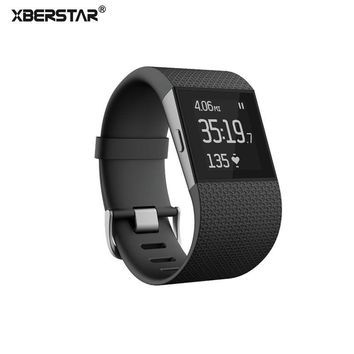 XBERSTAR Watch band Bracelet Strap for Fitbit Surge Replacement Bands TPU Watchbands strap with tools Metal Buckle wrist belt