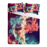 Caleb Troy Yin Yang Painted Clouds Sheet Set
