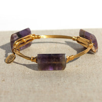 Bourbon and Boweties: Bangle, Purple