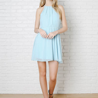 Avalon Chiffon Dress-FINAL SALE