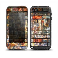 The Neon Graffiti Brick Wall Skin for the iPod Touch 5th Generation frē LifeProof Case