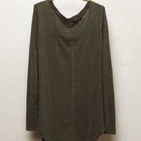 Seamed Scoopneck by Pure + Good
