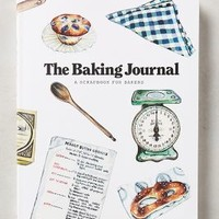 The Baking Journal by Anthropologie in Blue Size: One Size Books