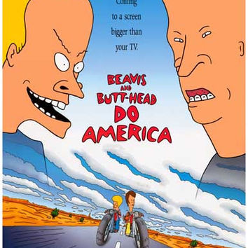 Beavis and Butt-Head Do America Movie Poster 11x17