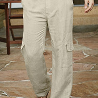 P.O.V.® Boardwalk Linen Pants for Men | UnderGear