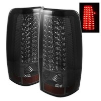 Spyder Auto ALT-ON-CS99-LED-SM Chevy Silverado 1500/2500/3500 and GMC Sierra 1500/2500/3500 Smoke LED Tail Light