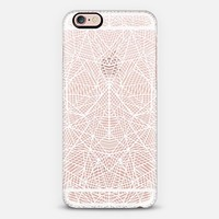 Abstract Lace Transparent iPhone 6s case by Project M | Casetify
