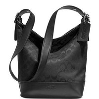 Coach Bleecker Duffle Shoulder Bag in Signature Fabric