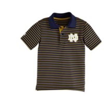 Under Armour Kids' Infant Notre Dame Yarn Dye Polo