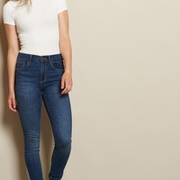 Ultramarine Retro High Waist Jegging