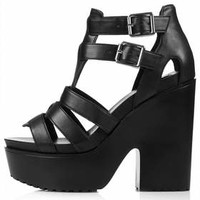 SCARLET Platforms - Black