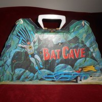 Batman 1966 Ideal Playset Bat Cave Carrying Case