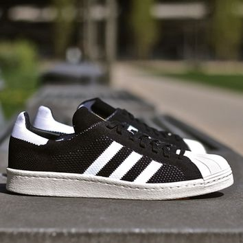 "Superstar 80s Primeknit ""Core Black"""