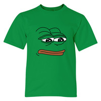 The Frog Pepe Youth T-shirt