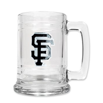 San Francisco Giants 15oz Glass Tankard - Etching Personalized Gift Item