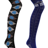 Doctor Who Over-the-Knee Socks