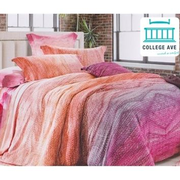 Summertide Twin XL Designer Comforter Set Dorm Bedding for Girls