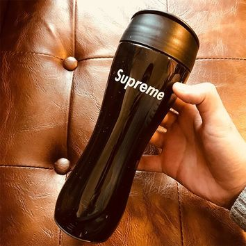Supreme Drinks Coffee Cute Plastic Mug Sports Stylish Gym Big Capacity Cup [429896859684]
